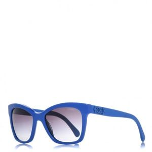 CHANEL CC Butterfly Signature Sunglasses 5313 Blue
